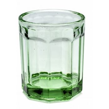 Paola Navone Trinkglas Medium 22cl B0816760 Grün D7,5xH9cm