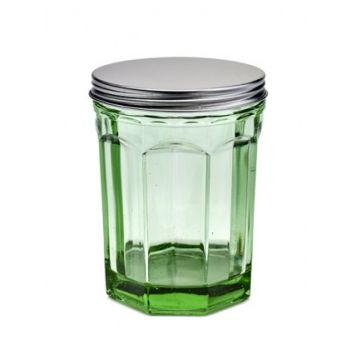 Paola Navone Pokal Mit Deckel Medium 100CL B0816764 Fish&Fish Transparent Grun