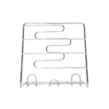 Cookbook stand alu chrom 25x25xh15cm