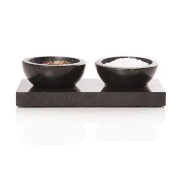 Apero set bowl set2 w. base d8.5xh5cm