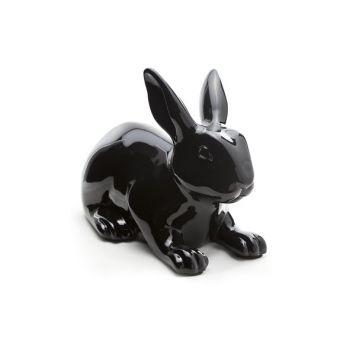 Rabbit black outdoor 35x20.5xh25.5cm