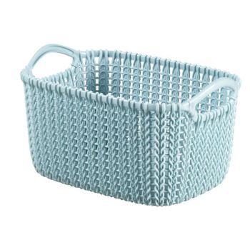 Curver Knit Korb Misty Blue 3L