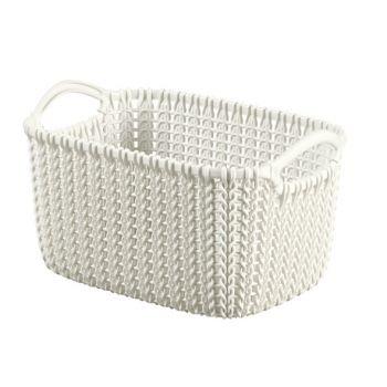 Curver Knit Korb Oasis White 3L