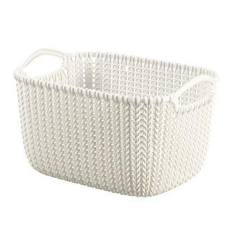 Curver Knit Korb Oasis White 8L
