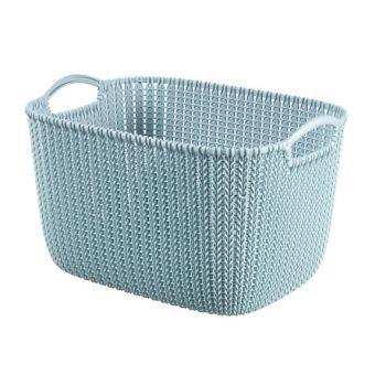 Curver Knit Korb Misty Blue 19L