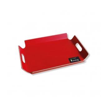 Living 1146 - Tablett mit Handgriffe (Rot)