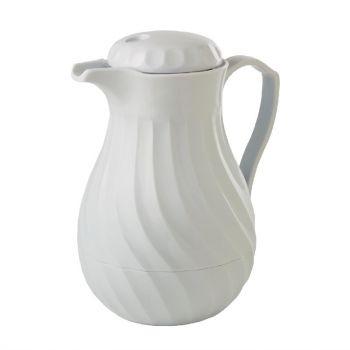 Kinox koffie isoleerkan 1.8L wit