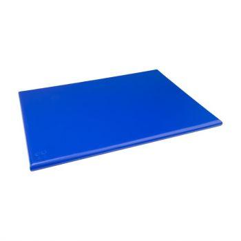 Hygiplas HDPE snijplank blauw 600x450x25mm