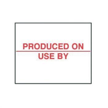 Houdbaarheidsetiketten 20x16mm