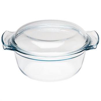 Pyrex ronde glazen casserole 1.5L
