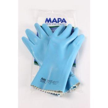 Handschoen Blauw Mapa 7.5 Medium
