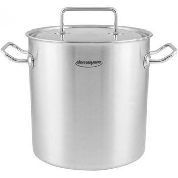 Commercial Soeppot Hoog 24 Cm-11 L Met Deksel By Demeyere 90924