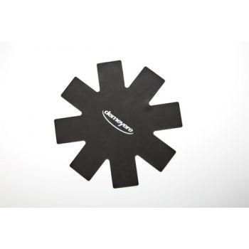 Panbeschermer Zwart 40 Cm  Silicone   Set 2  Demeyere 99002