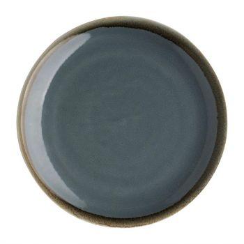 Olympia Kiln coupe borden blauw 23cm
