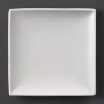 Olympia Whiteware vierkante borden 14cm