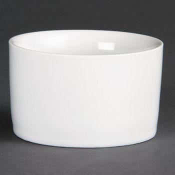 Olympia Whiteware eigentijdse ramekins 8cm