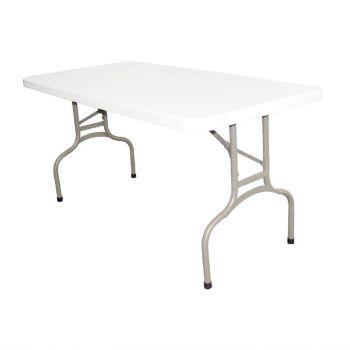 Bolero rechthoekige inklapbare tafel 1.52m