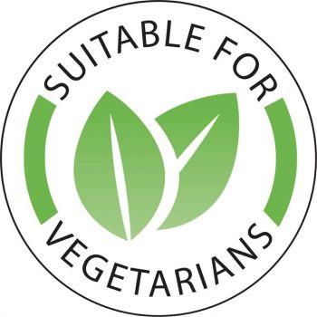 Vogue voedseletiketten 'Vegetarisch'