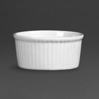 Olympia Whiteware ramekins 8cm