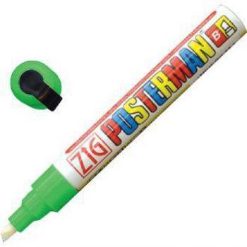 Securit Zig Posterman weerbestendige krijtstift groen 6mm